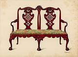 Settee, property of Miss Mills