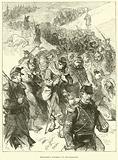 Bourbaki's retreat to Switzerland, January 1871