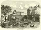 Gun-boats on the Seine, November 1870