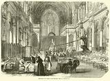 Church in Paris converted into a hospital, November 1870