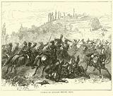 Charge of Hussars before Metz, October 1870