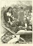Tending the wounded, September 1870