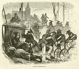 Uhlan rendezvous, September 1870
