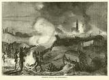Strasburg during the bombardment, September 1870