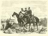 Reconnoitring near Strasburg, September 1870