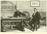 Interview between Count Bismarck and M Jules Favre, September 1870