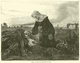 Sister of Mercy on the battle-field, September 1870