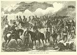 Prussian Army Corps moving on Sedan, September 1870