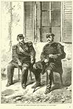 Interview between Napoleon and Bismarck at Donchery, September 1870