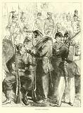 Prussian uniforms, August 1870