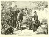 An incident at the Battle of Gravelotte, August 1870