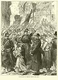 Departure of French troops for Metz, August 1870
