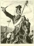 Prussian Uhlan, July 1870