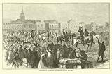 Grierson's command entering Baton Rouge, April 1863