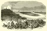 The Investment of Vicksburg, Sherman's extreme right on the Mississippi, May 1863