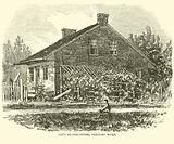 Lee's Headquarters, Seminary Ridge, July 1863