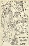 Map of the Battle of Gettysburg, July 1863