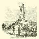 Ruins of Light-house on Morris's Island, July 1863