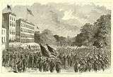 Grand review at Washington, Sherman's veterans marching through Pennsylvania Avenue, May 1865