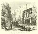 Petra, Ancient Edom, Joel, iii, 19