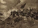 Battle of Dettingen, 1743