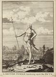 A British female bordering upon the Picts