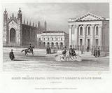 King's College Chapel, University Library and Senate House, Cambridge
