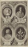 Portraits of Kings of England