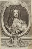 Portrait of George I of Great Britain of Ireland