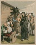 Illustration from Hudibras by Samuel Butler