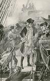 Admiral Rodney Directs the Battle on Board the Formidable