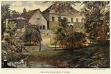 The Manor House Varzin in autumn