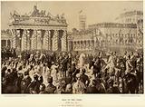 Otto von Bismarck in Berlin in 1871