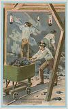 Lighting coal mines, Davy lamps or Mueseler lamps