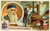 Johannes Gutenberg – inventor of the printing press