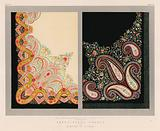Embroidered Shawls by Nowotny of Vienna