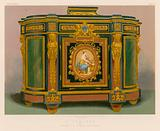 A Cabinet by Messrs J and T Scott, Edinburgh