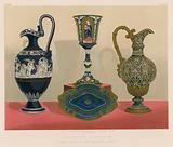 Decorative Porcelain by Alderman Copeland M P Stoke-upon-Trent and London