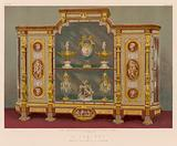 A Cabinet by Messrs Gillow and Co, London