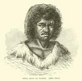 Otoo, King of Tahiti, after Cook