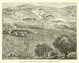 Zulu Kraals under Zwart Kop, near Pietermaritzburg