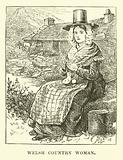 Welsh country woman