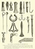 Tools, weapons and ornaments of the Bronze Age