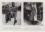 The visit of Prince Alexander, a Serbian nurse in Hyde Park; A Khaki bus-conductress …