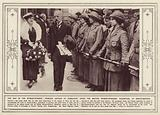 The Day of the Woman-worker, Princess Arthur of Connaught opens the British Women-Workers' …