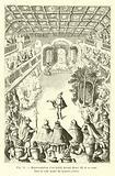 Representation d'un ballet devant Henri III et sa cour, dans la salle haute du Louvre, 1582