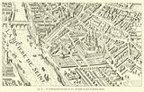 Le faubourg Saint-Germain en 1615, fac-simile du plan de Mathieu Merian