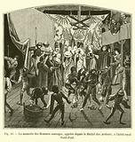 La momerie des Hommes sauvages, appelee depuis le Ballet des Ardents, a l'hotel royal Saint-Paul