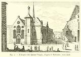 L'hospice des Quinze-Vingts, d'apres I Sylvestre, vers 1546