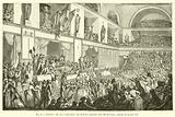 Nouvelle salle de la Convention, aux Tuileries, ancienne salle des Machines, Journee du 20 mai 1795
